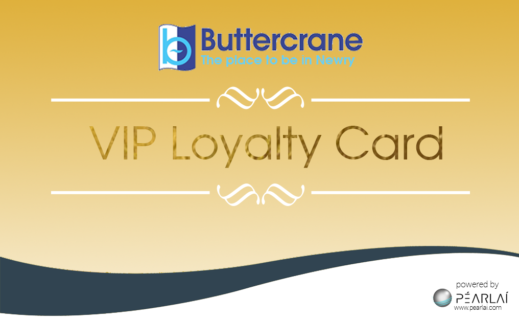 VIP Buttercrane Gold Card