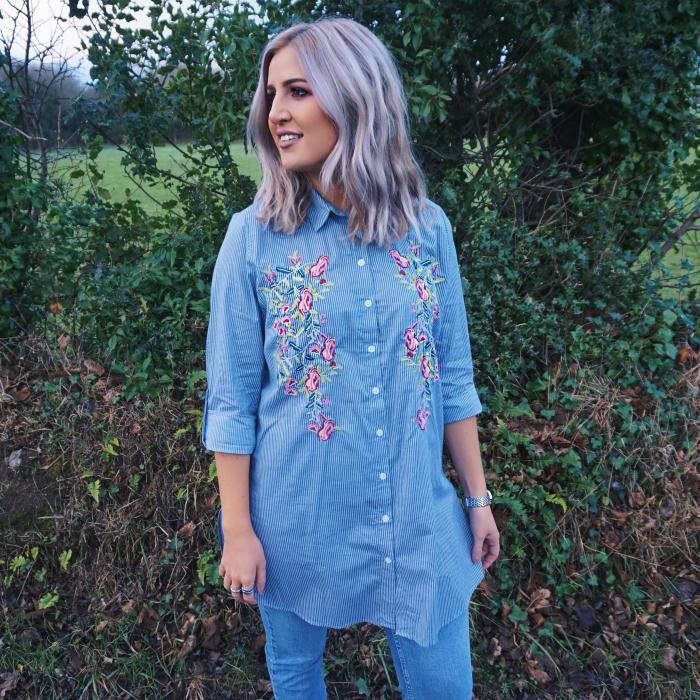 Embroidered shirt £12 Primark