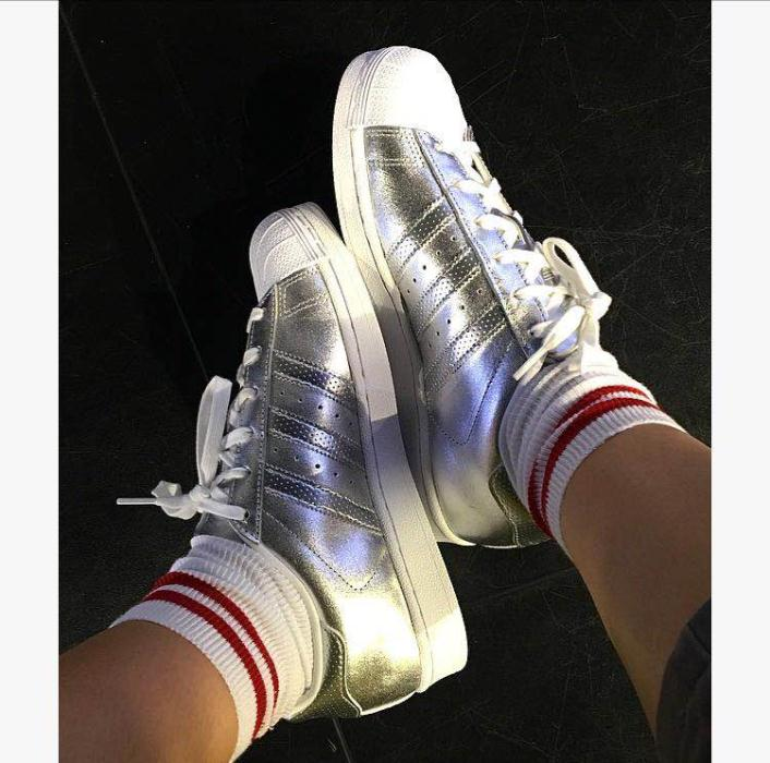 Adidas Trainers £70 Silver - JD Sports