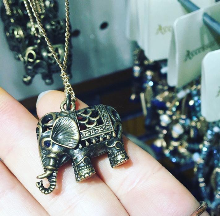 Elephant Pendant Accessorize £10