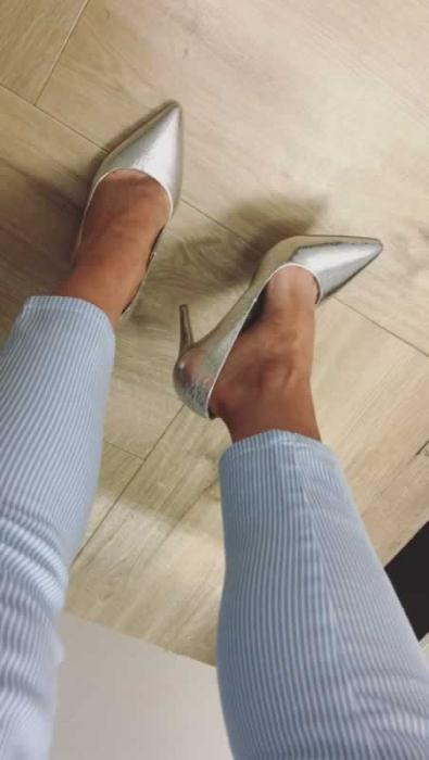 Dunnes Stores Silver shoes £25
