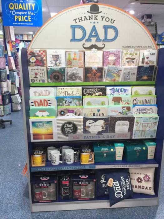 Father's Day cards - The Card Factory