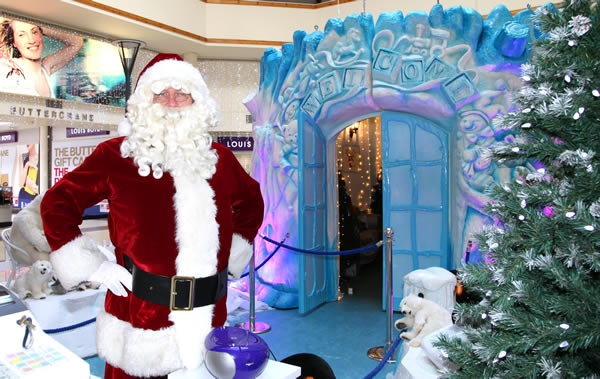 Visit Santa at his Grotto