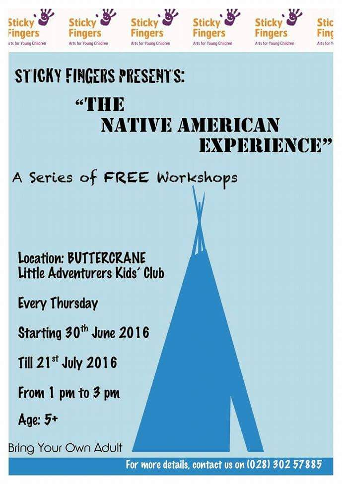 Sticky Fingers present The Native American Experience