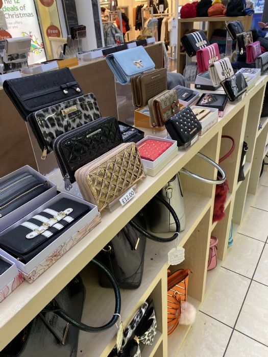 Accessories pop up, bags, hats & purses from £10