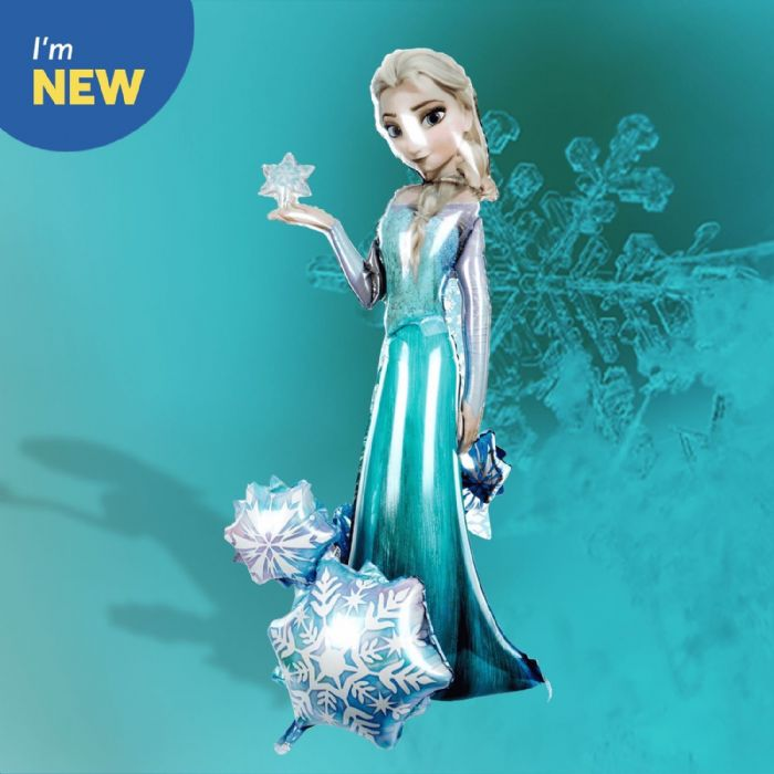 Frozen foil balloons and party items from The Card Factory, from £2.99