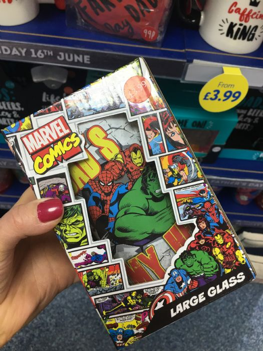 Marvel Mug, £3.99 from the Card Factory