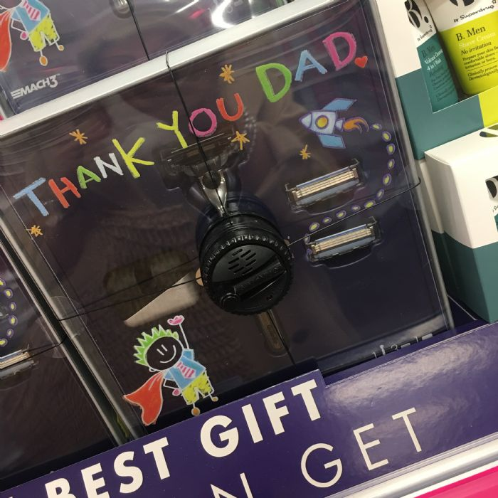Gillette Gift Set for Father's Day, Superdrug