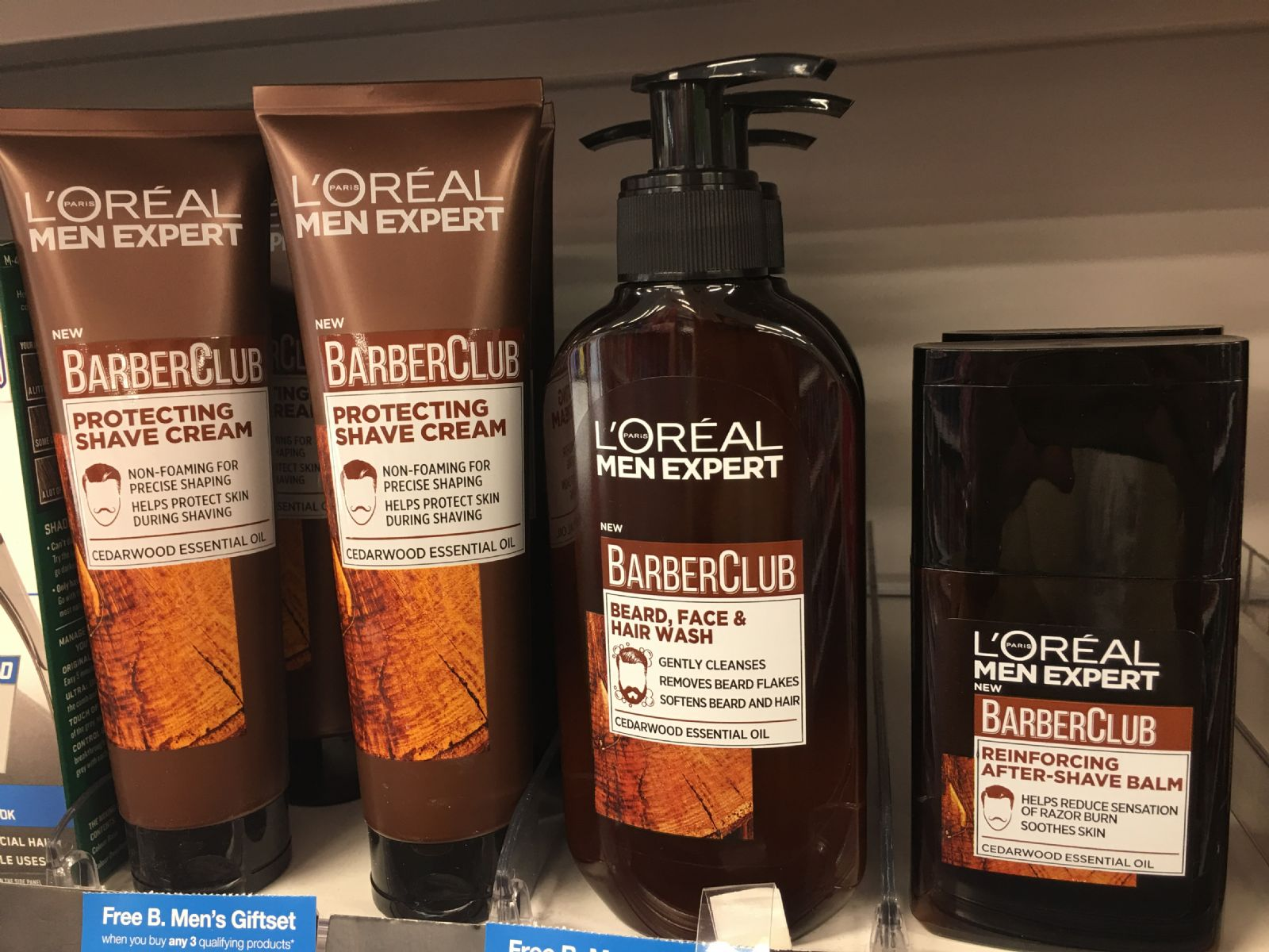 L'Oreal Barber Club range from Superdrug