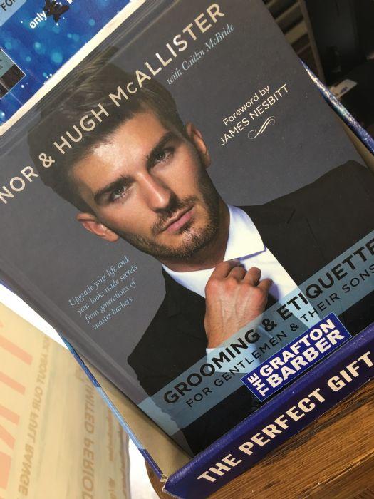 Grafton Barbers founders book, Grooming Ettiquette
