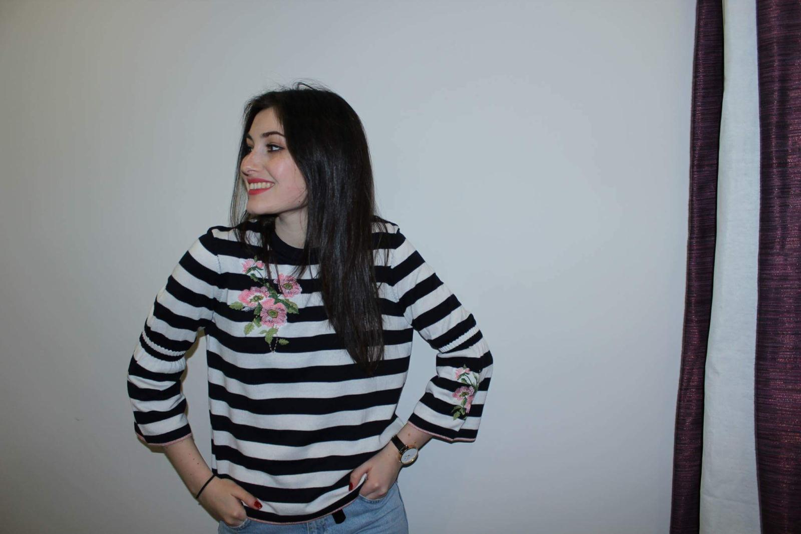 M&S Striped Sweater £19.99