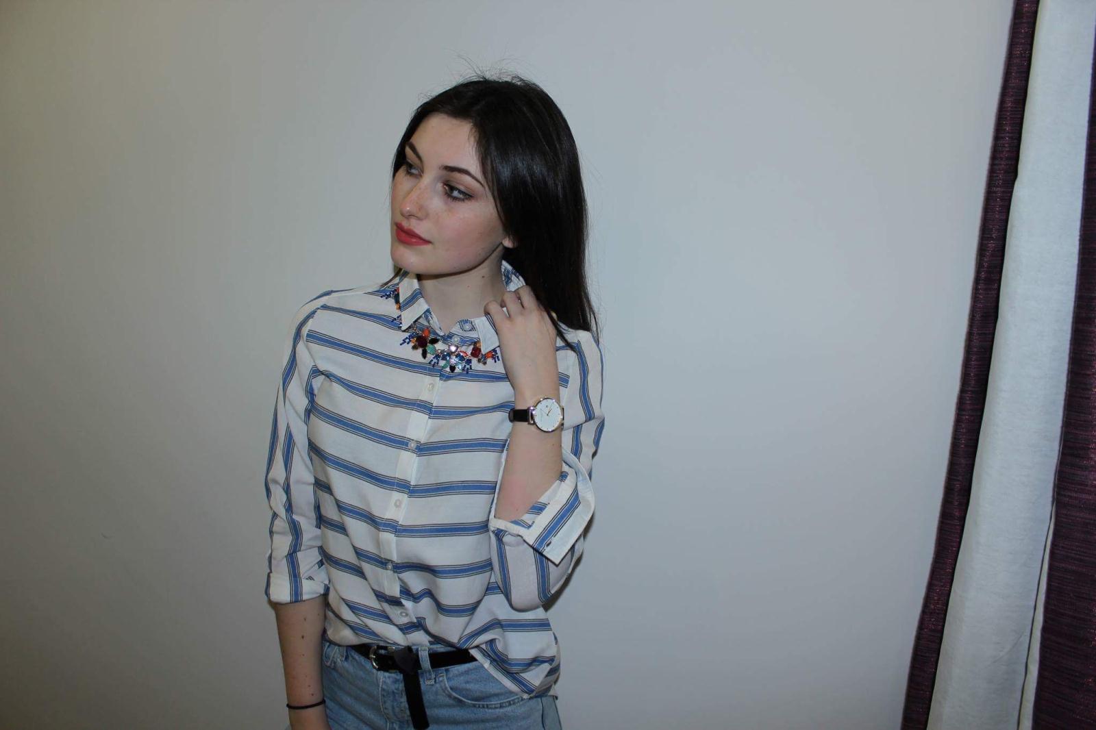 Vero Moda Shirt & Statement Necklace £22.50 M&S