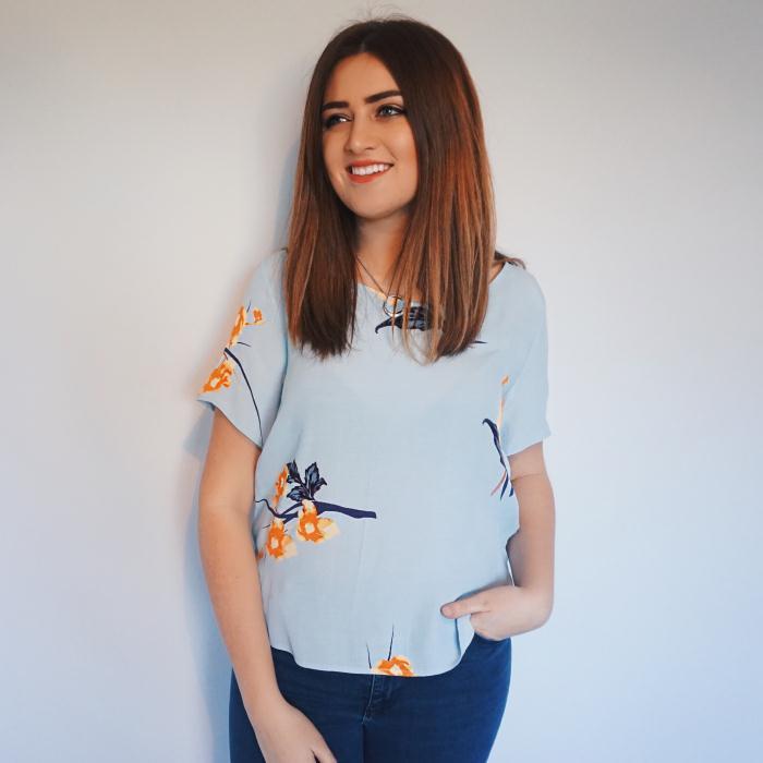 VILA Blue T-Shirt £30