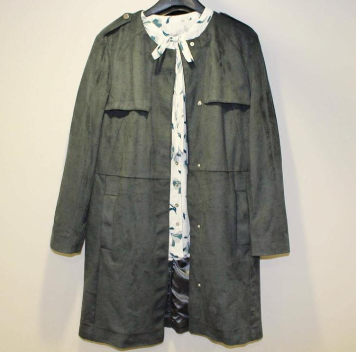 Marks & Spencer green coat