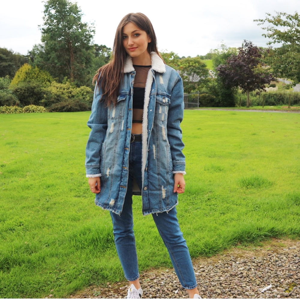 Primark Sherpa Denim Coat £25