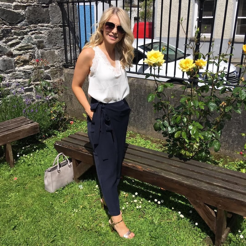 Vila Top £30 Vero Moda Trousers £38 Village girl Blog