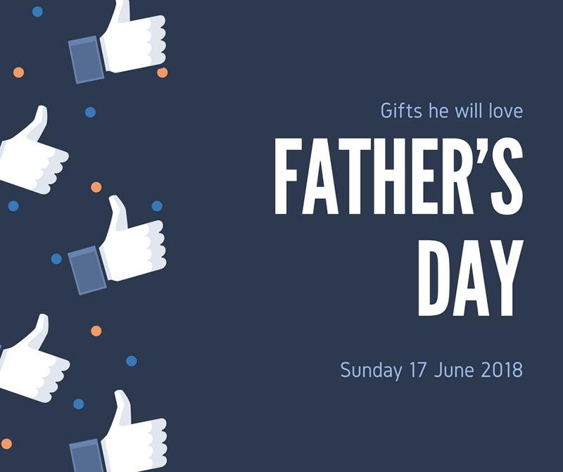 Give Dad the perfect gift this Father's Day