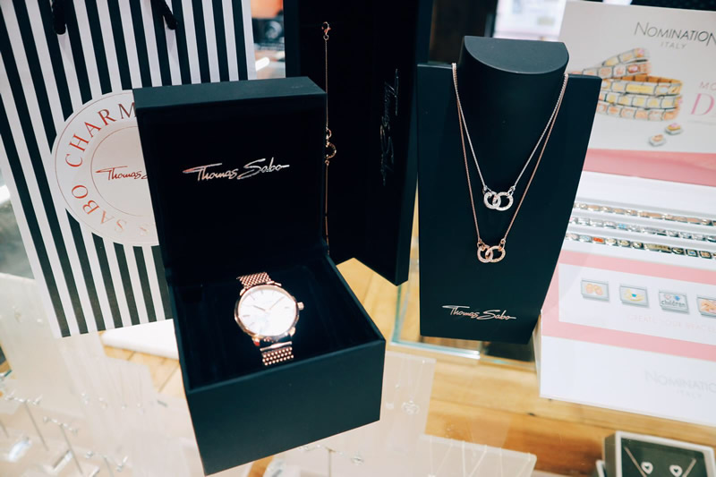 Argento Thomas Sabo Watch £229 Necklace £159