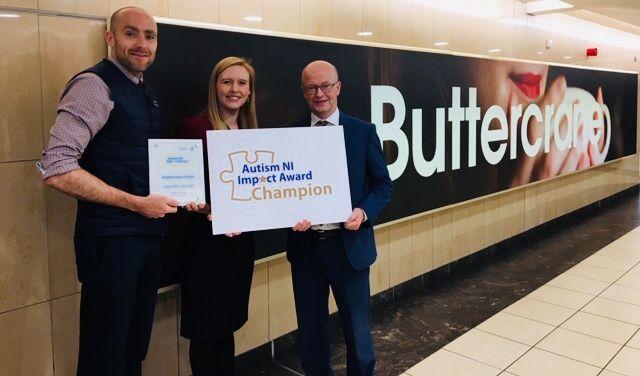 Buttercrane Presented with an Autism Impact Award