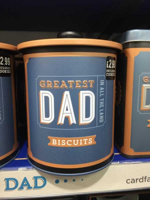 Dad Cookie Jar from The Card Factory