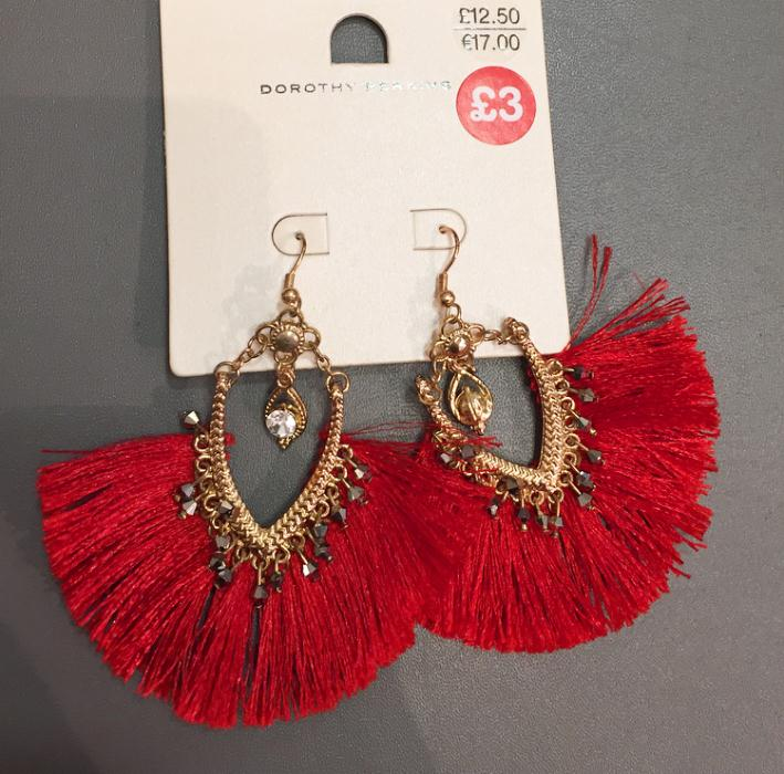 Dorothy Perkins Tassle Earrings