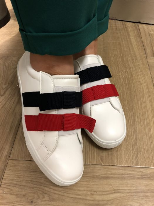 Bow detail sneakers from Dunnes Stores, £20