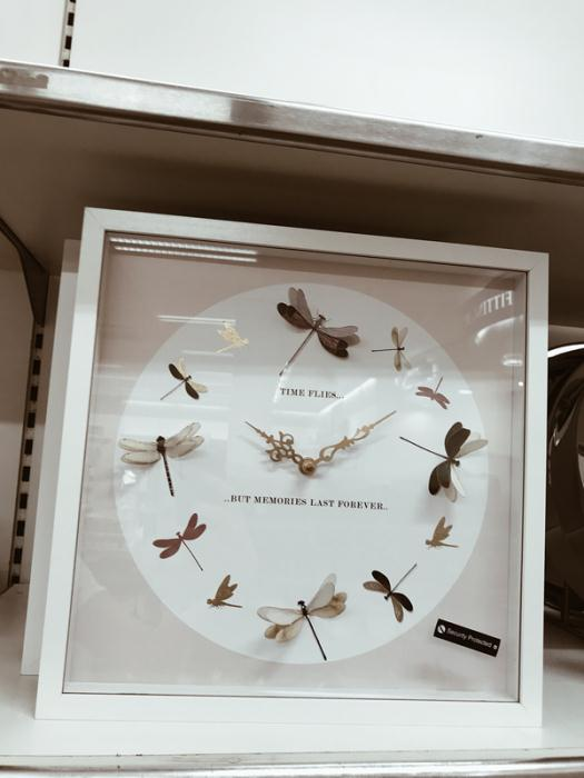Dunnes Stores Dragonfly Clock £20