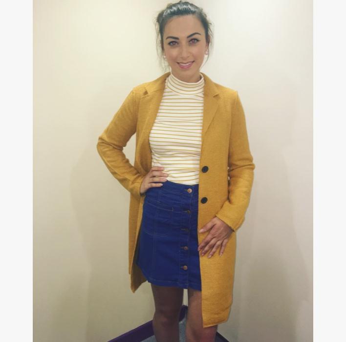 Mustard Coat £59.99 DV8