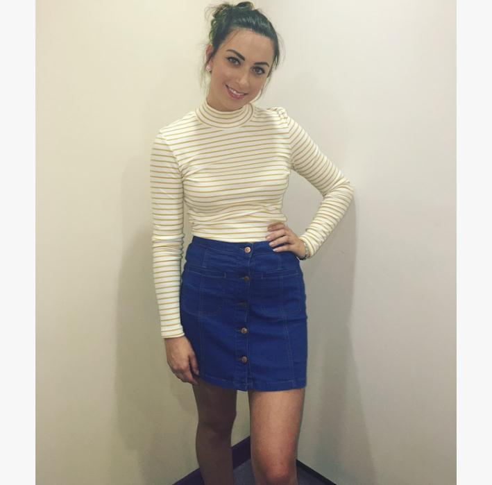 DV8 Denim skirt and top both £19.99