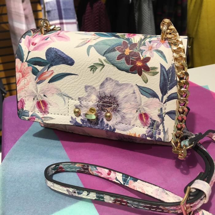 Floral Clutch Bag Accessorize £20