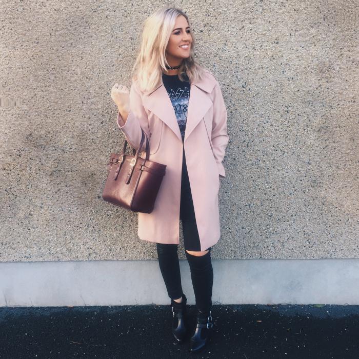 Pink Coat Primark