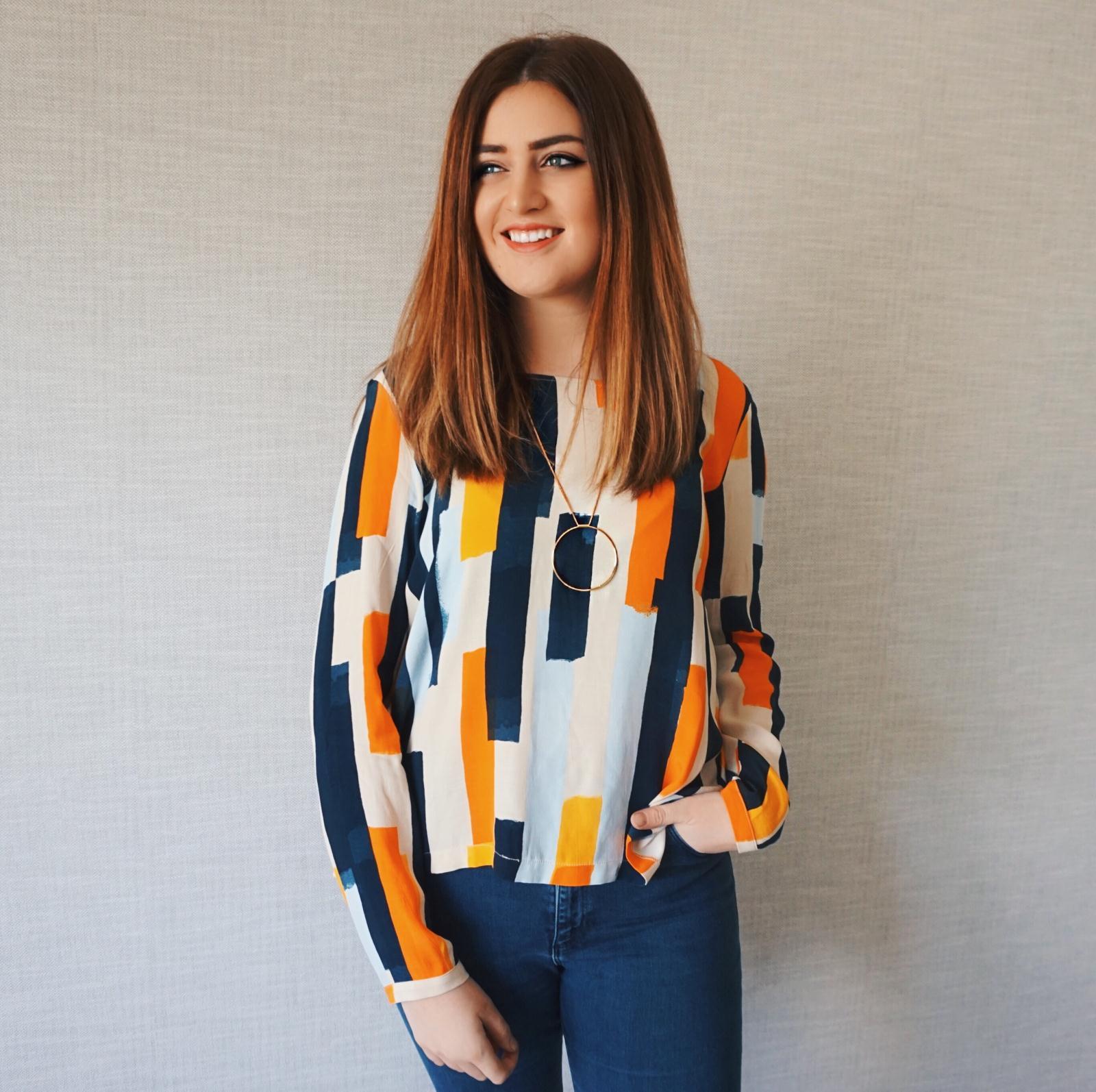 VILA Striped blouse £32