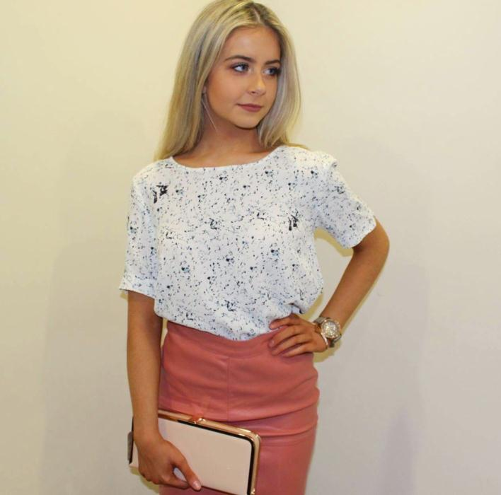 VILA Top £25 & Skirt £30