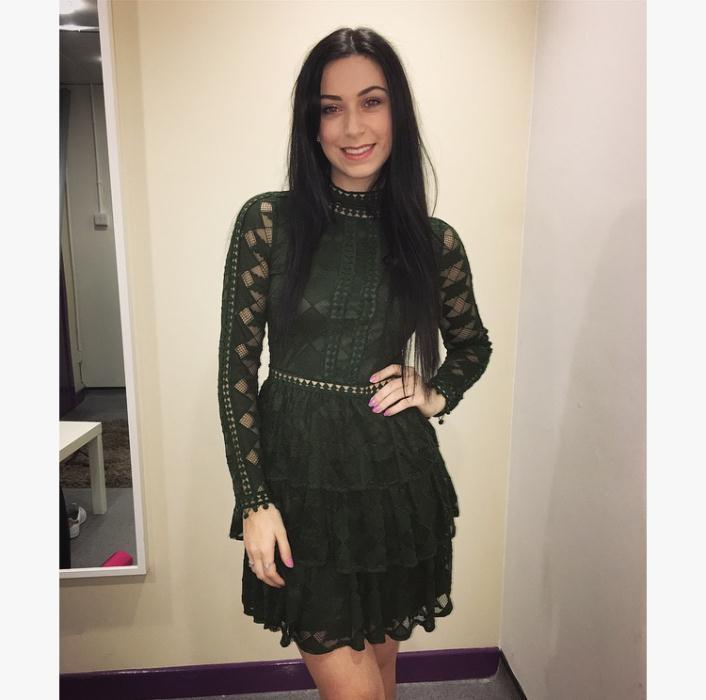 DV8 Green Lace Dress £69.99