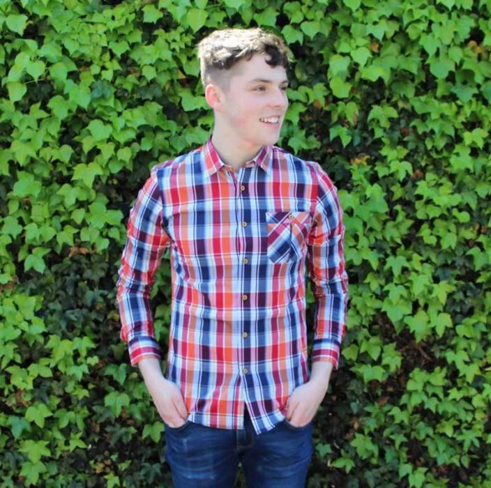 Louis Boyd Checked shirt