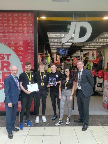 Buttercrane Stores Commended for Excellent Service