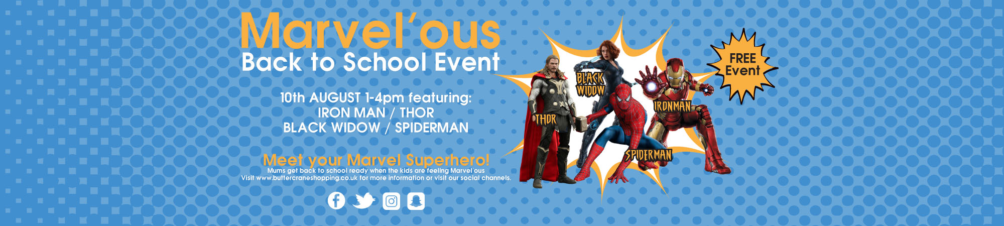 Marvel Banner for Web