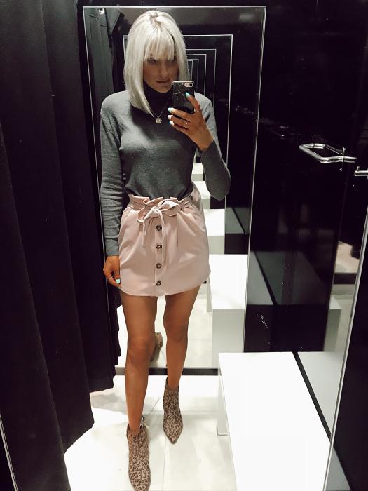 Primark Pink Skirt £10