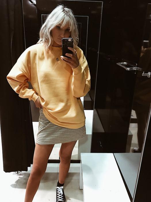 Primark Yellow Sweatshirt £8.00