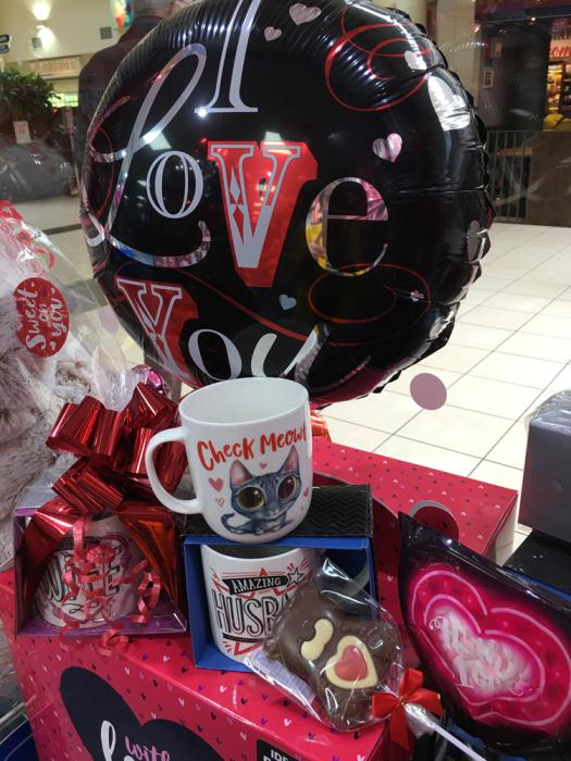 Quirky Mug From £3.99 - Heart Chocolates From £1.99 From The Card Factory