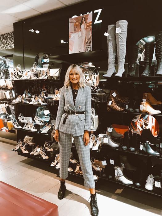 Quiz Blazer £34.99 Trousers £26.99