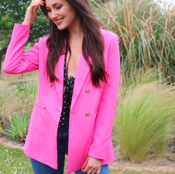 Quiz Pink Blazer