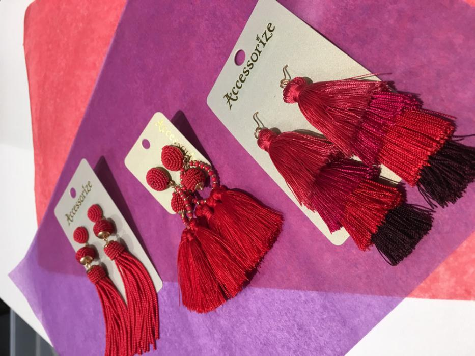 Statement Earrings From Accessorize £10-£12