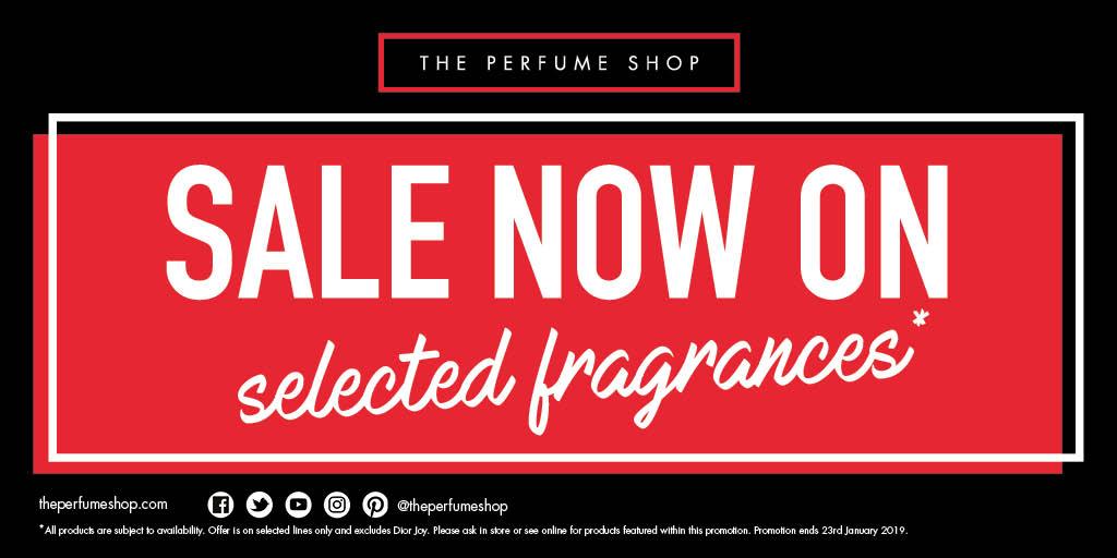 The Perfume Shop January Sale