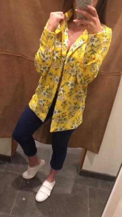 Vero Moda Yellow Blazer £36.99