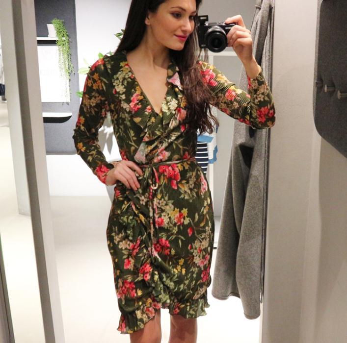 Vila Floral Dress