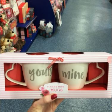 The Card Factory Mugs Set